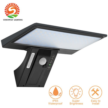 Outdoor Motion Sensor Solar Lamp LED Flood Light