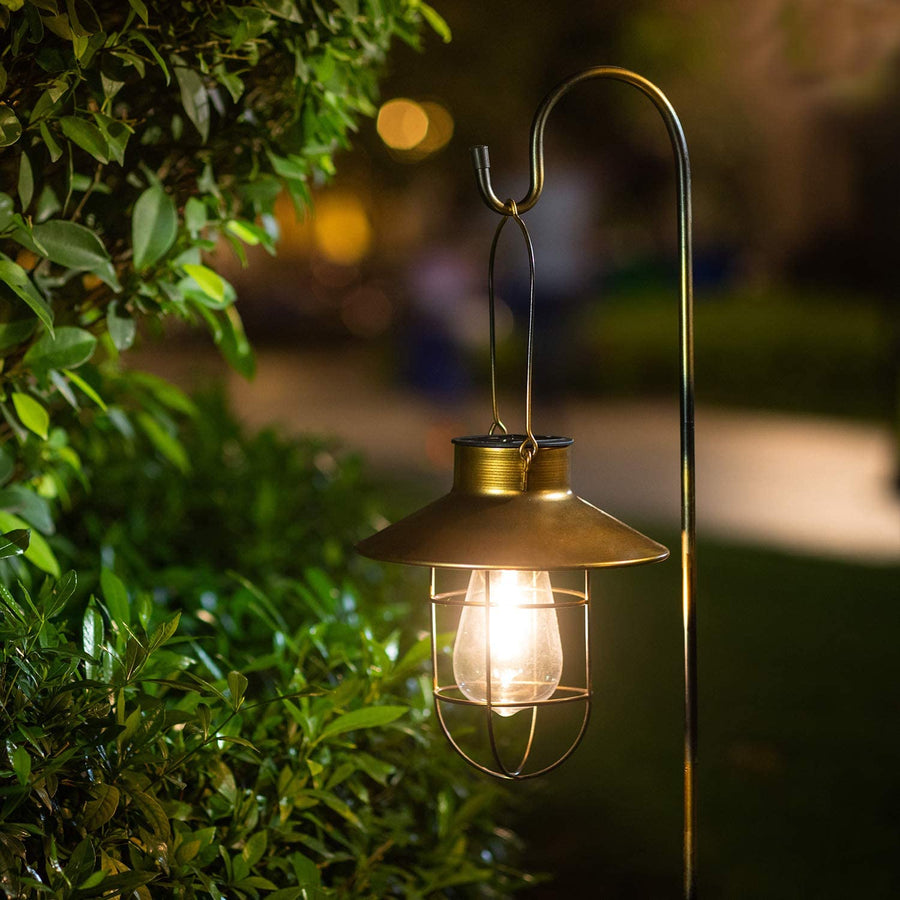 Hanging Solar Lamp with Shepherd Hook