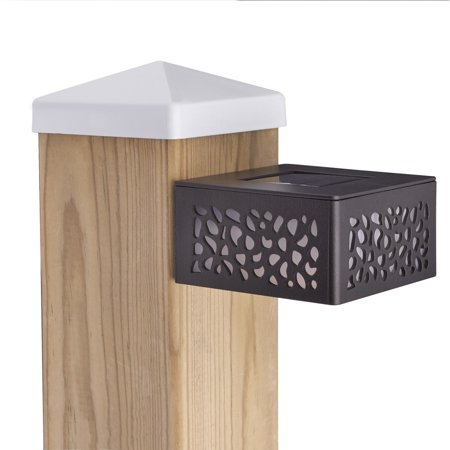 Sterno Home Cutout Solar Post Light 8 Lumens