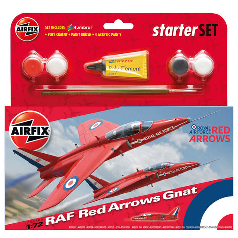 Starter Set: RAF Red Arrows Gnat