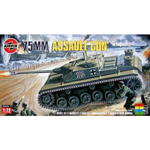 Airfix 1/72 75MM ASSAULT GUN