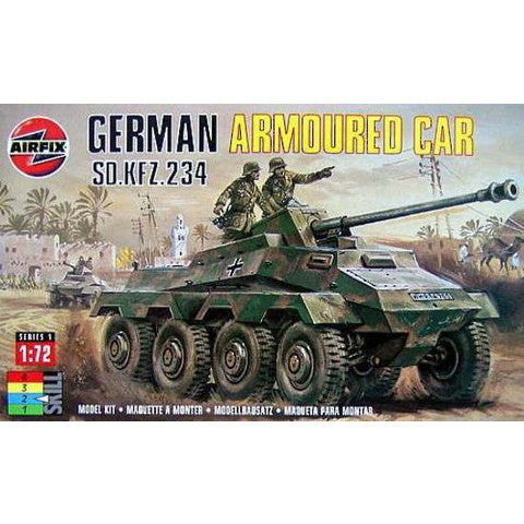 Airfix 1/72 German Armoured Car