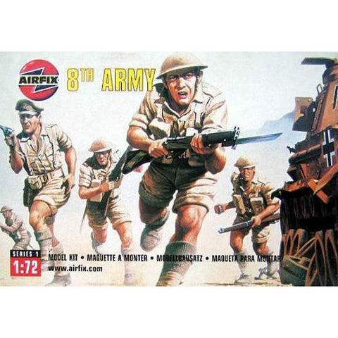 Airfix 1/72 British 8th Army Soldier