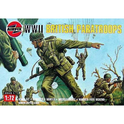 Airfix 1/72 British Paratroopers