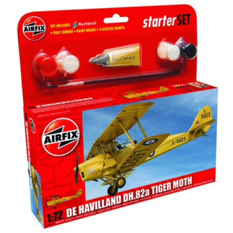 Starter Set: De Havilland DH.82a Tiger Moth