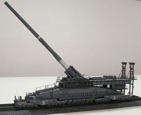 Hobby Boss Railway Gun DORA 1:72 scale