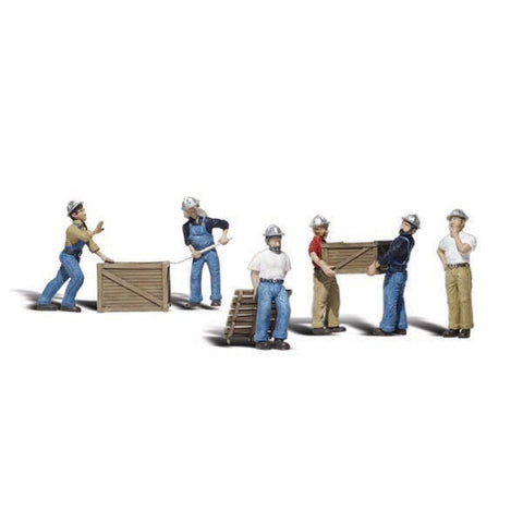 Woodland Scenics Dock Worker Figures