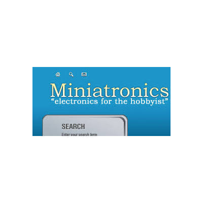 Miniatronics SPST Mini Toggle Switch x8