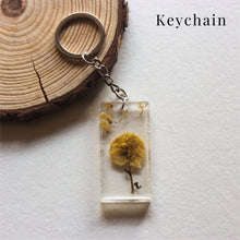 Load image into Gallery viewer, Resin jewellery | Elegant & aesthetic nature charms | Pendants | Key chains | Bookmarks
