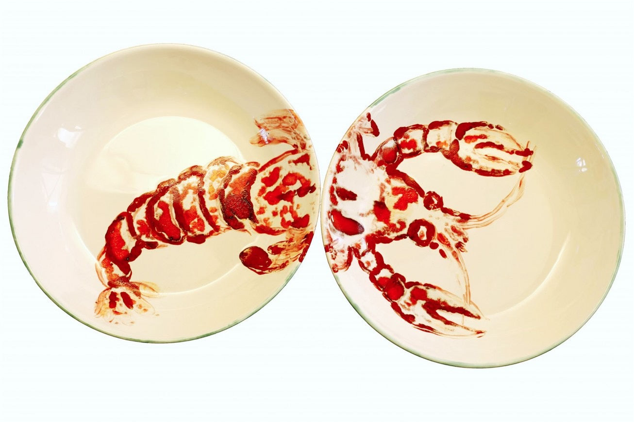 "Porzellanschalen-Set ""Lobster"""