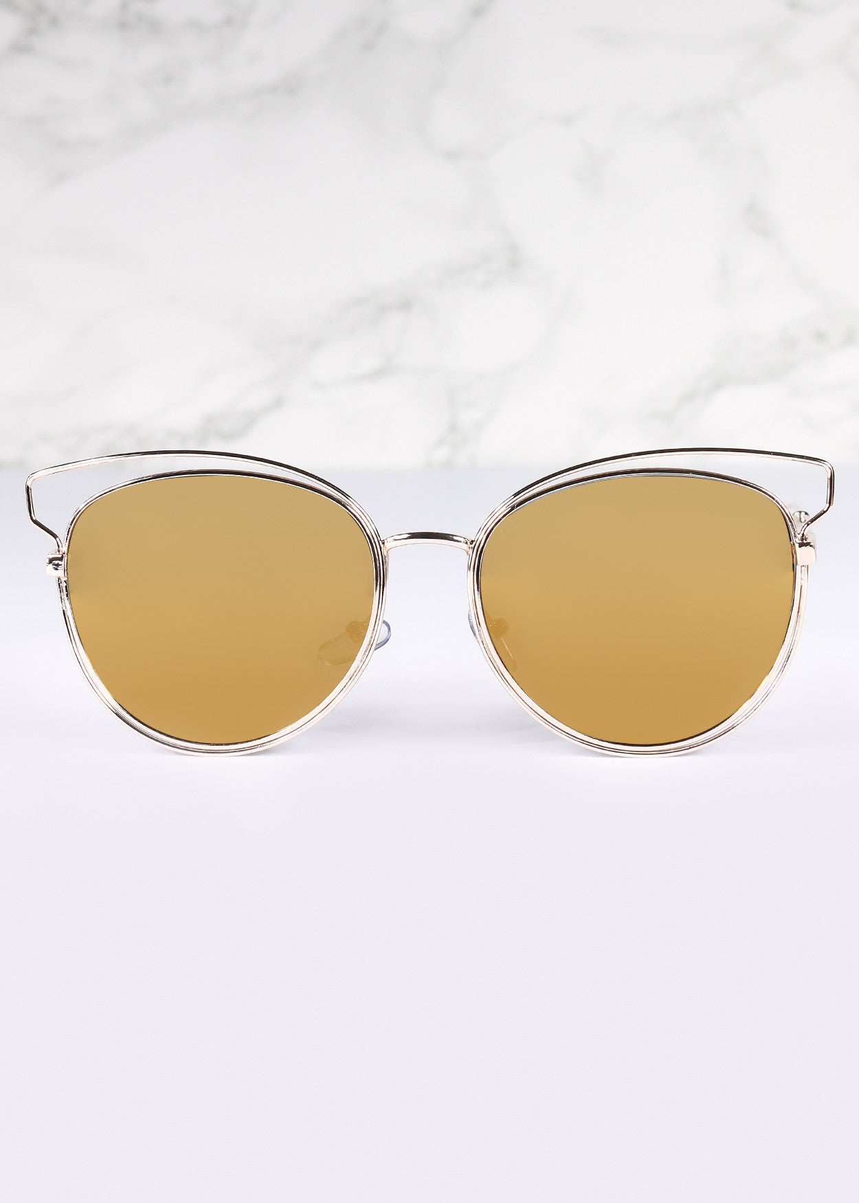 Cat Eye Mirrored Chantelle Sunnies