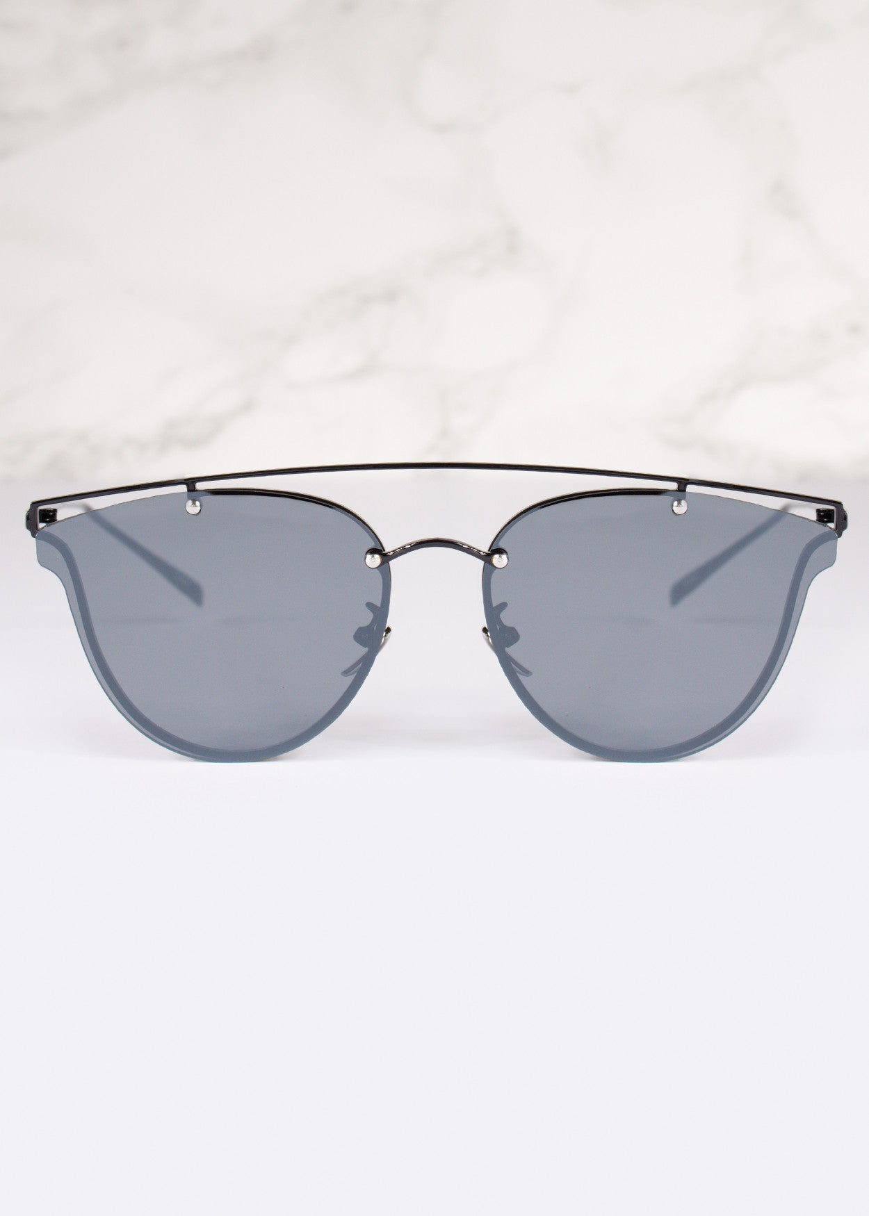 Aviator Mirrored Lens Classic Sunnies
