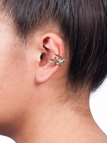 Gold Dove Ear Cuff - Gold Soul