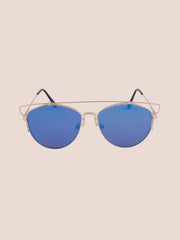 Flat Lens Planet X Sunnies - Gold Soul - 1
