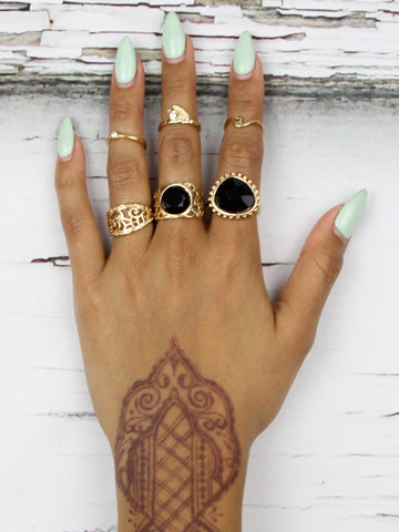 Gold Sway Ringset - Gold Soul