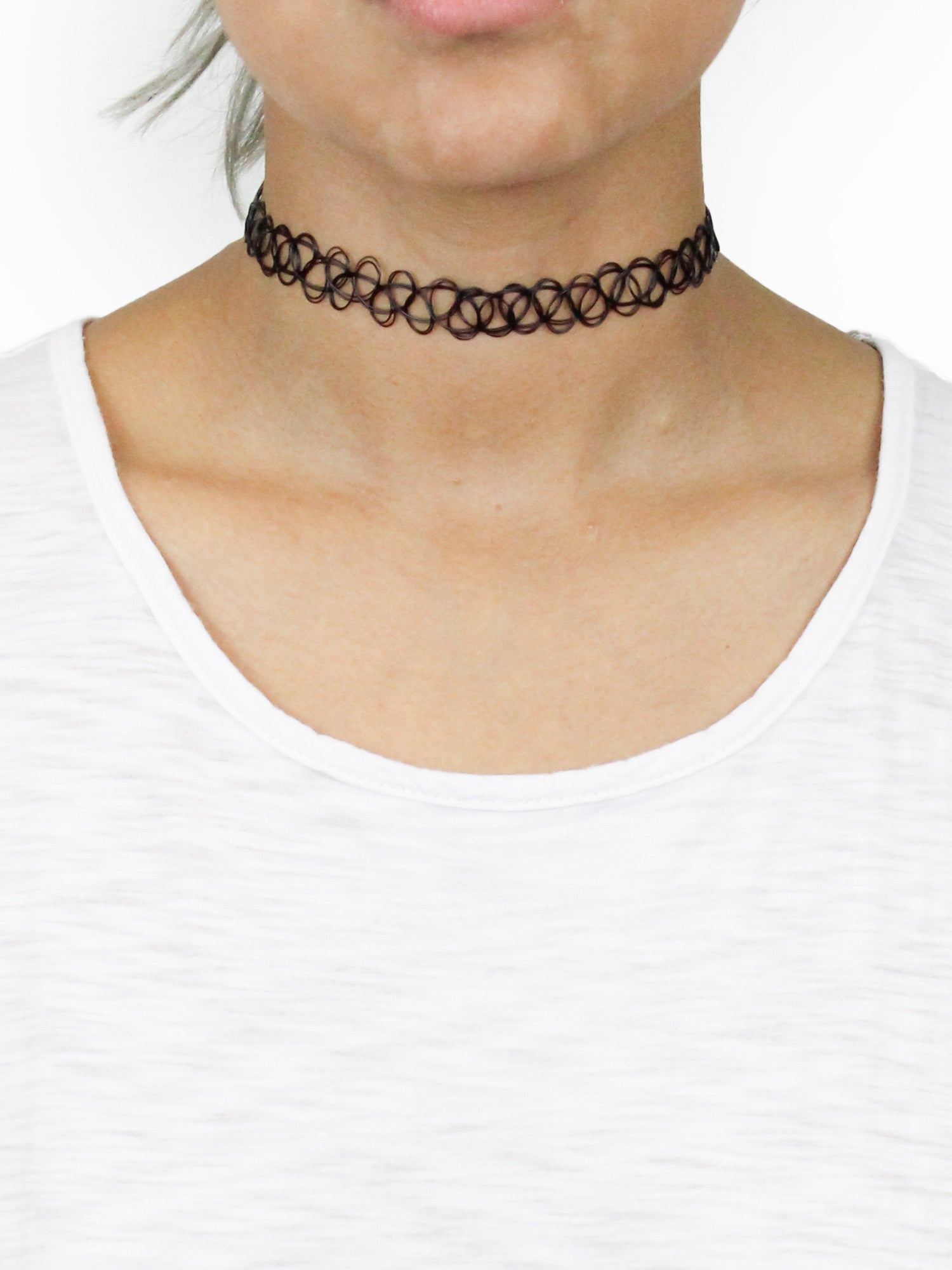Wicked Tattoo Choker - Gold Soul