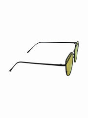 Mirrored Lens Giant  Velvet Sunnies - Gold Soul - 2