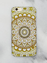 Tribal Flo Print iPhone Case - Gold Soul