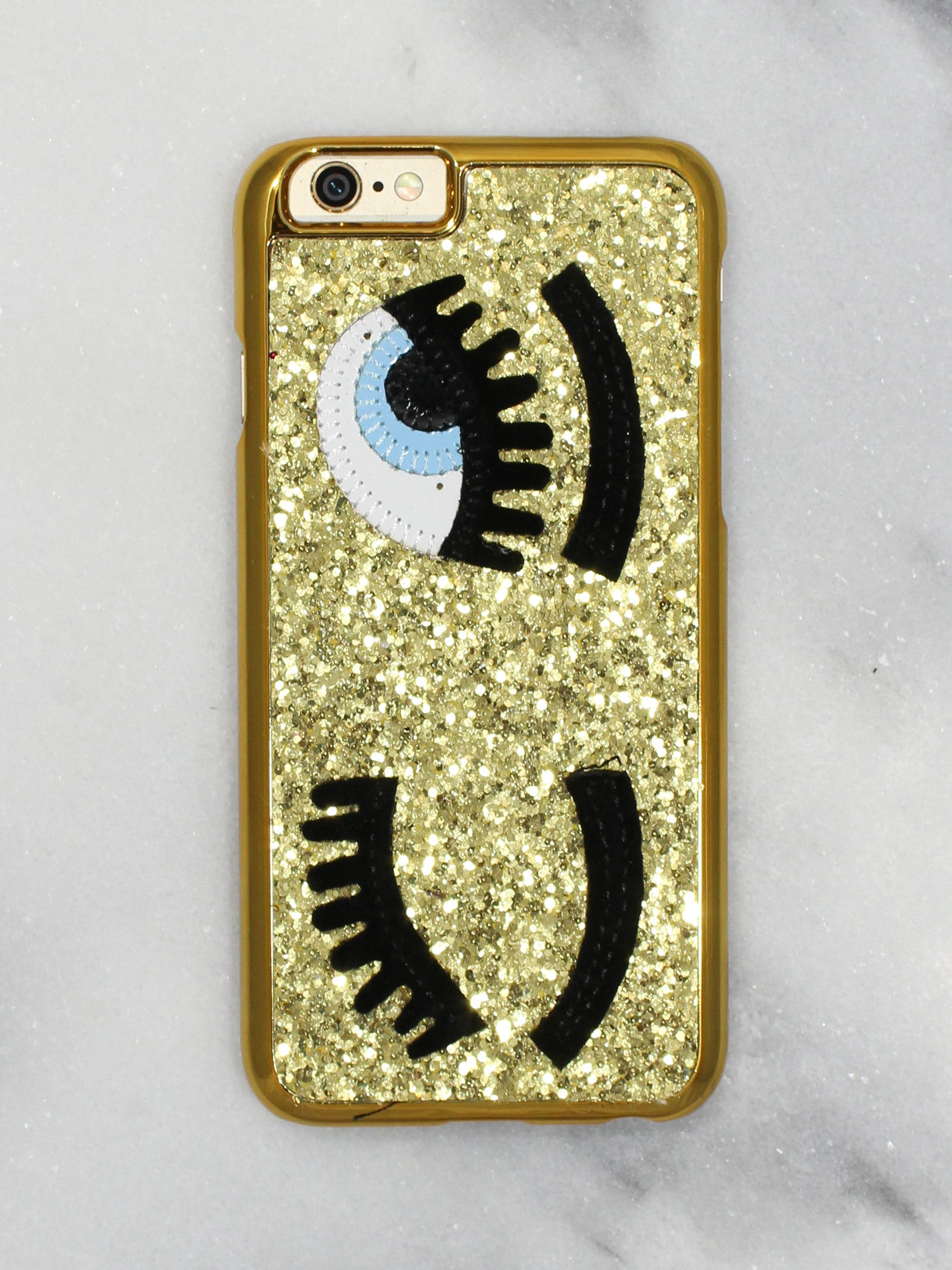 Gold Glitter iPhone Case - Gold Soul