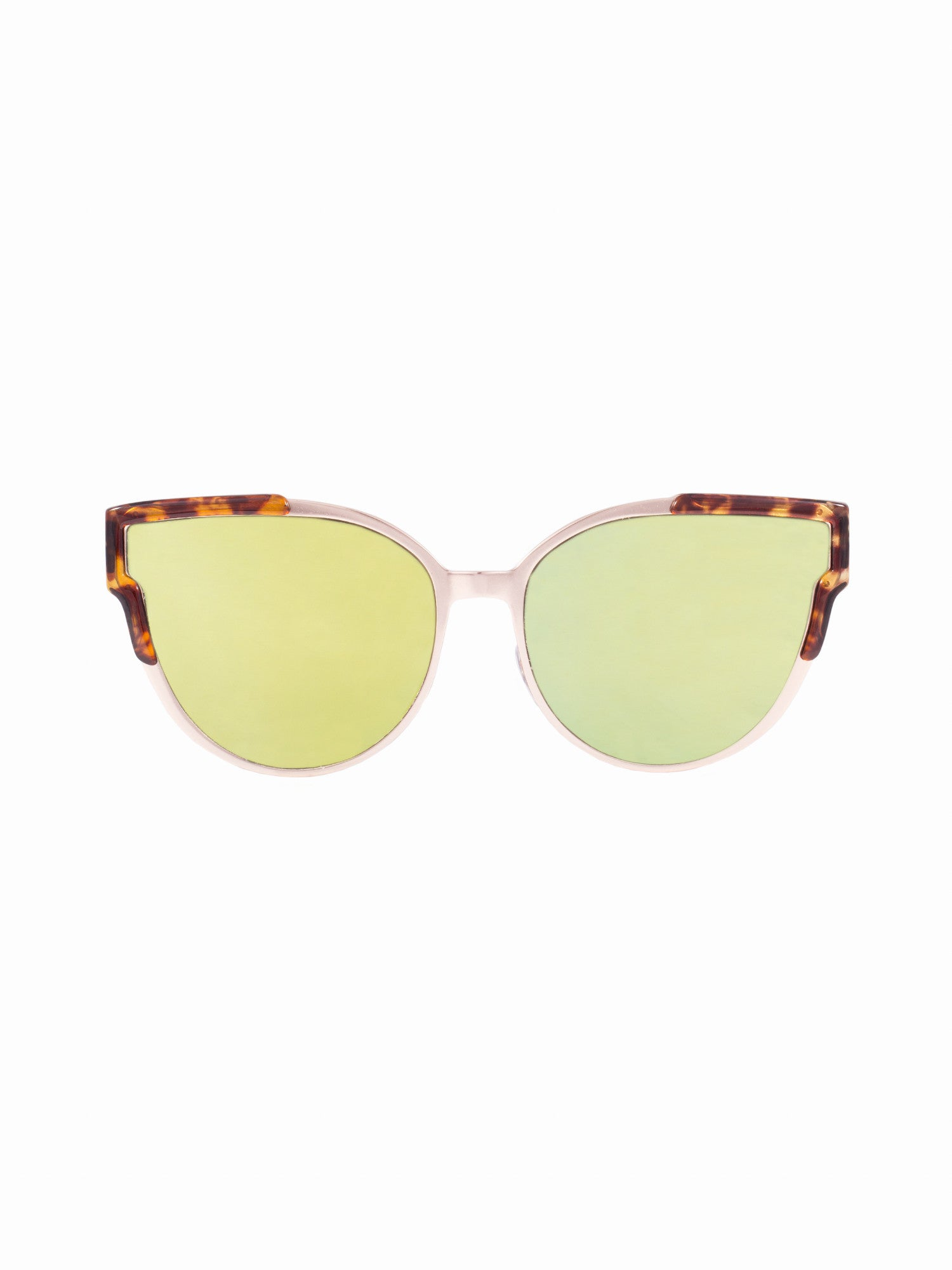Cat Eye Lens Cosmos Sunnies - Gold Soul - 1