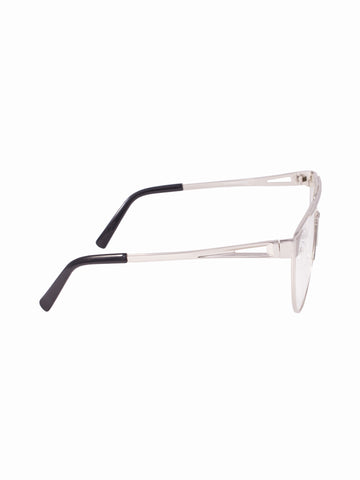 Flat Clear Lens Maddy Glasses - Gold Soul - 2