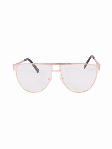 Flat Lens Maddy Glasses - Gold Soul - 1