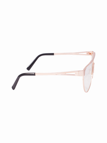Flat Lens Maddy Glasses - Gold Soul - 2