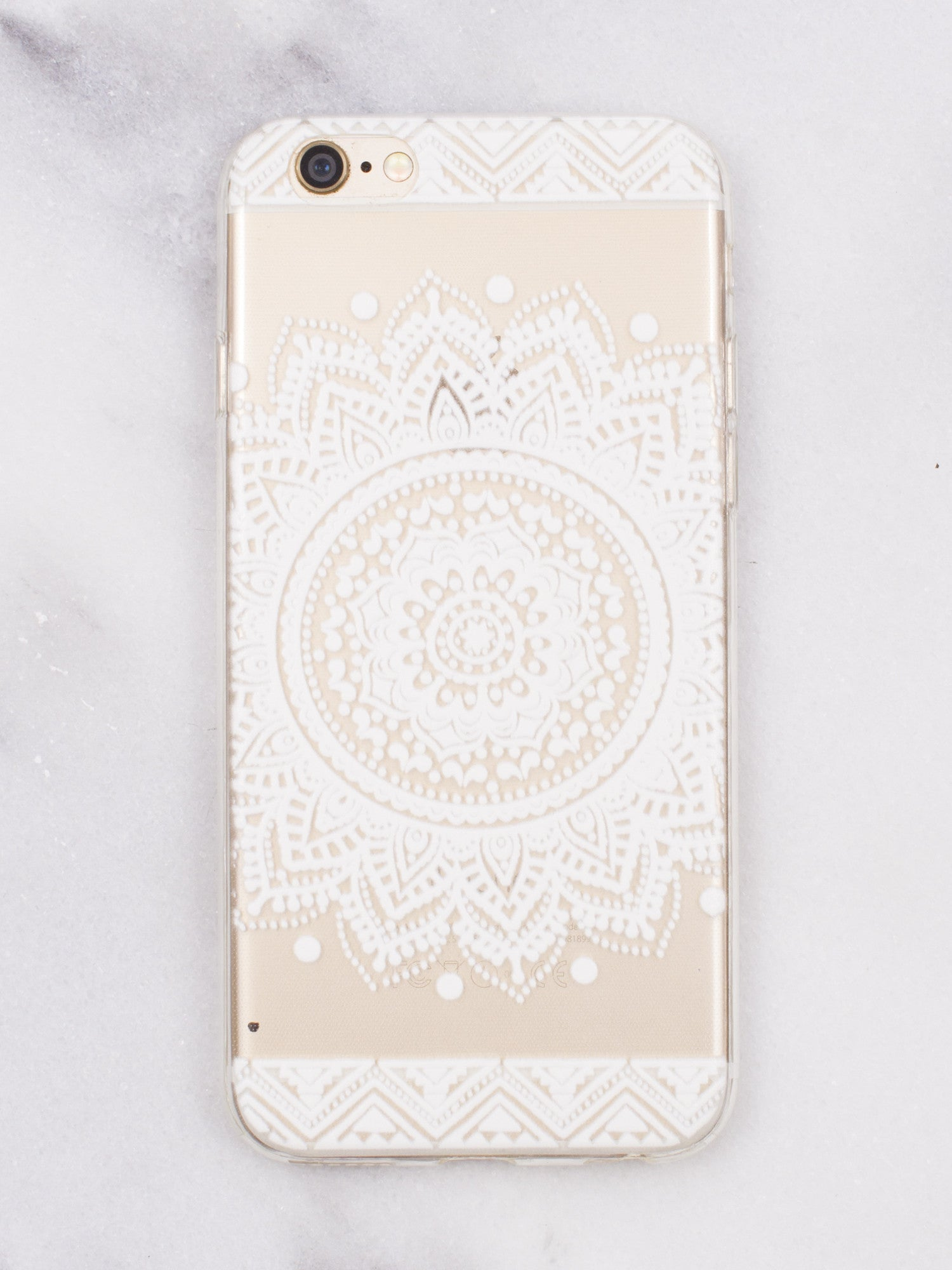 Tribal Mandala iPhone   Case - Gold Soul