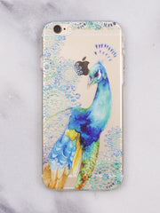 Peacock iPhone Case - Gold Soul
