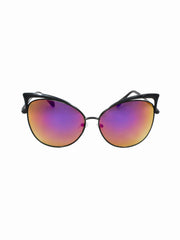 Cat Eye Retro Jenn Sunnies - Gold Soul - 1
