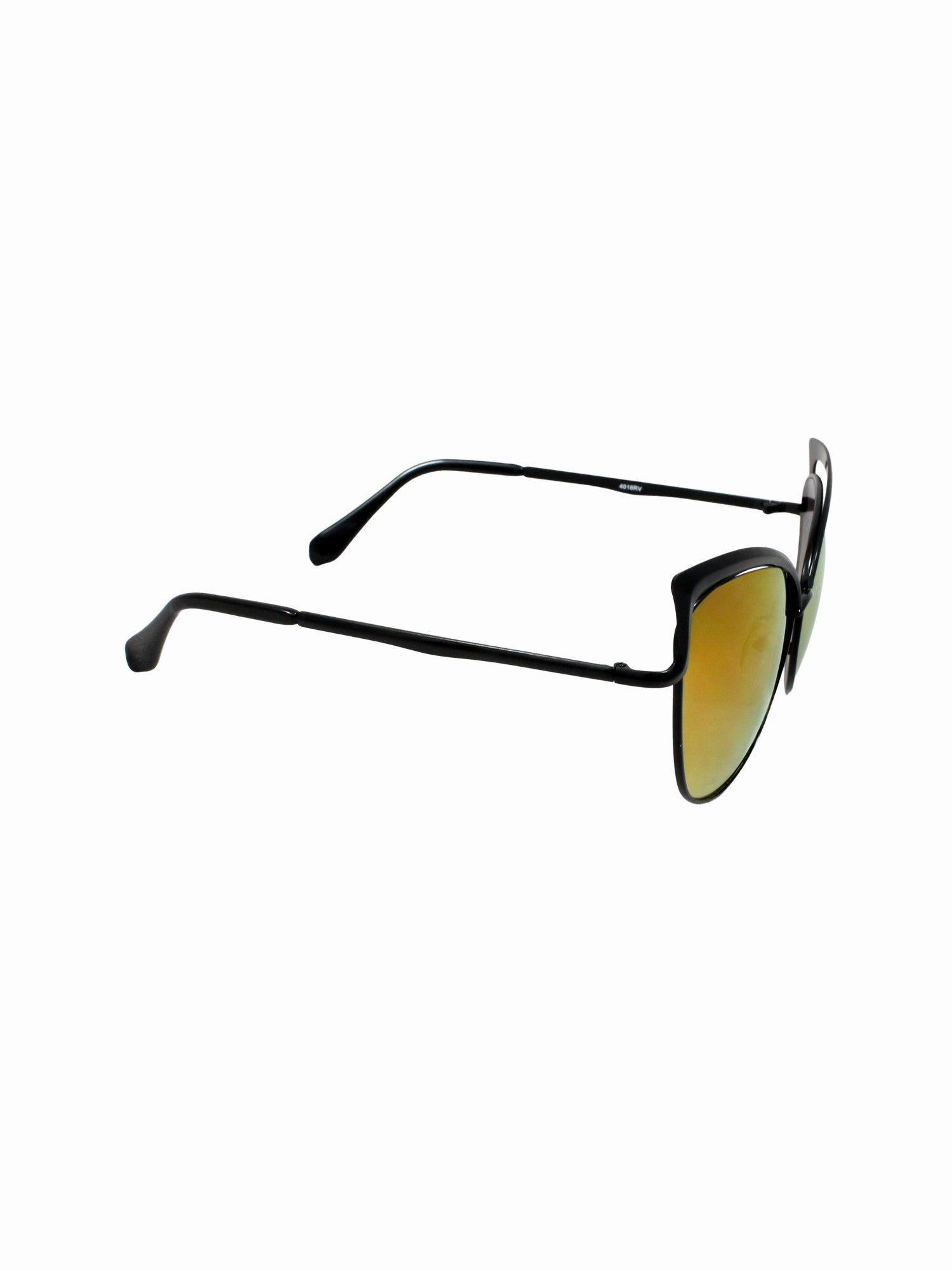 Cat Eye Retro Jenn Sunnies - Gold Soul - 2