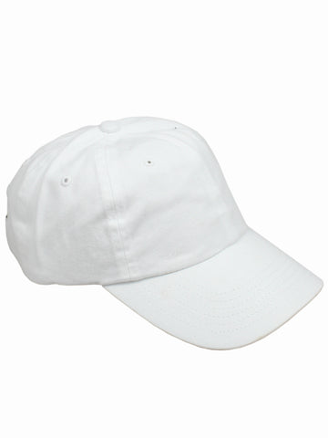 White Baseball Cap - Gold Soul - 1