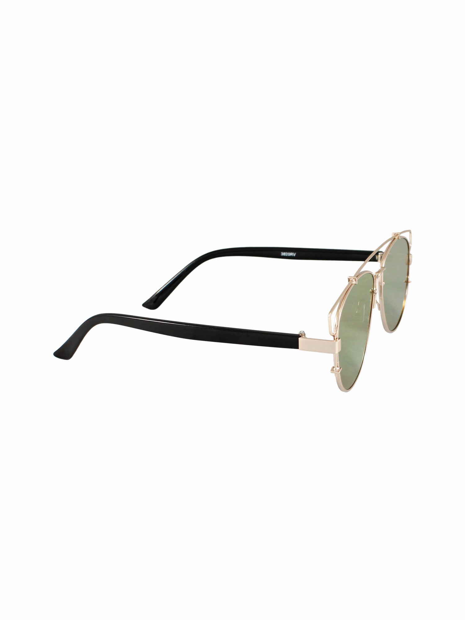 Flat Lens Planet X Sunnies - Gold Soul - 2