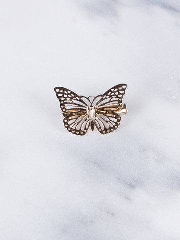 Butterfly Hairclip - Gold Soul - 2