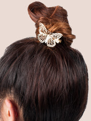 Butterfly Hairclip - Gold Soul - 1
