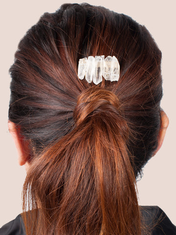 Quartz Stone Hairclip - Gold Soul - 1