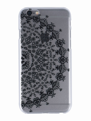 Vine Mandala iPhone  Case - Gold Soul