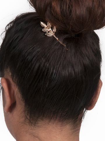 Leaf Hair Clip - Gold Soul