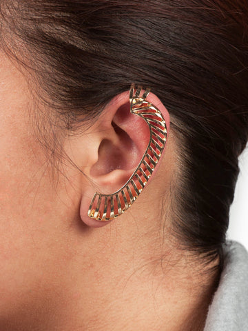 Gold Scale Ear Cuff - Gold Soul