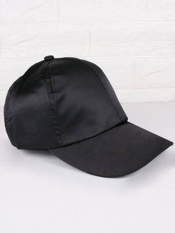 Satin Black Cap - Gold Soul - 1