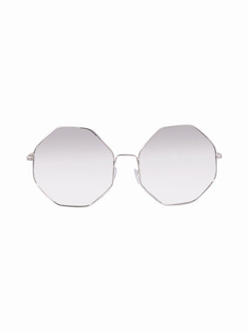 Oversized Lens Anna Sunnies - Gold Soul - 1