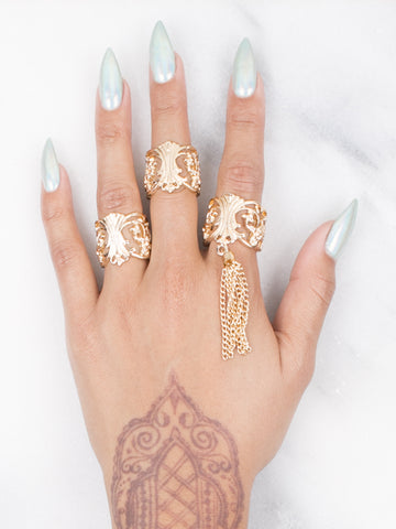 Ring Set - Gold Soul