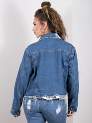Jean Queen Denim Jacket - Gold Soul - 3
