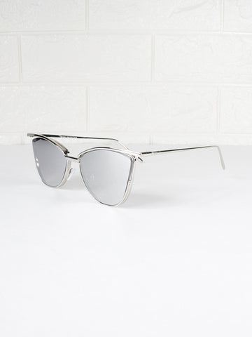 Cat Eyed Mercury Sunnies