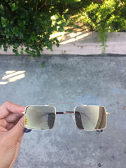 Oneness Square Mirrored Vintage Sunnies