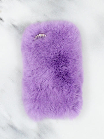 Lavender Fuzzy iPhone5 Case - Gold Soul
