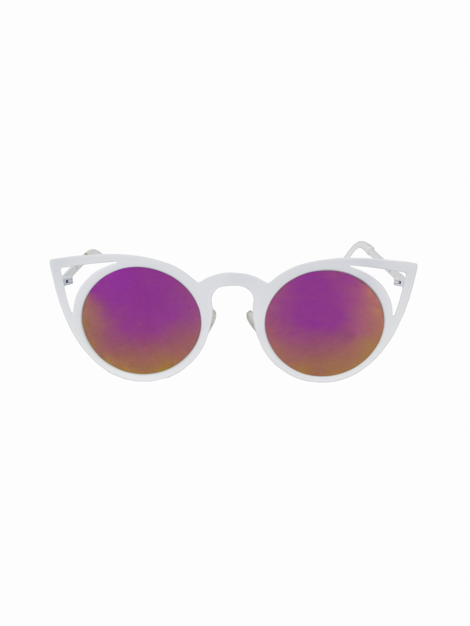 Cat Eye Retro Purrfect Sunnies - Gold Soul - 1
