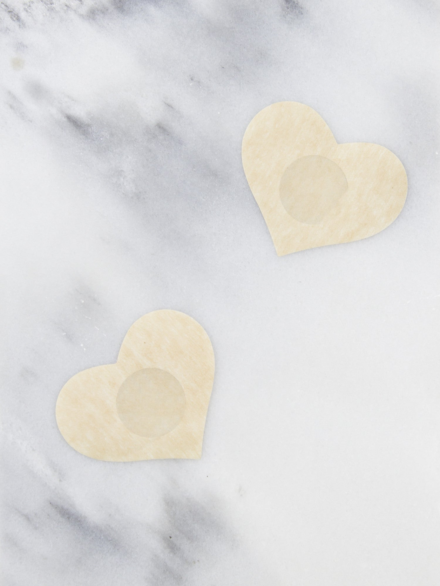 Heart Pasties - Gold Soul