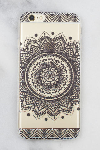 Henna Mandala iPhone Case - Gold Soul