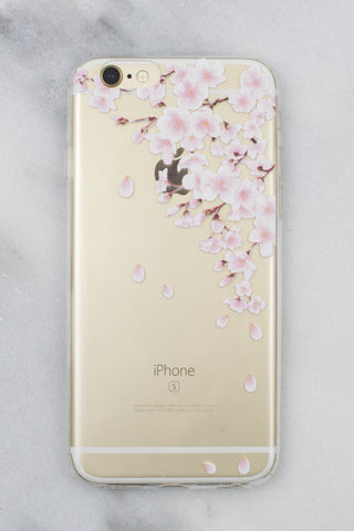 Cherry Blossom iPhone Case - Gold Soul